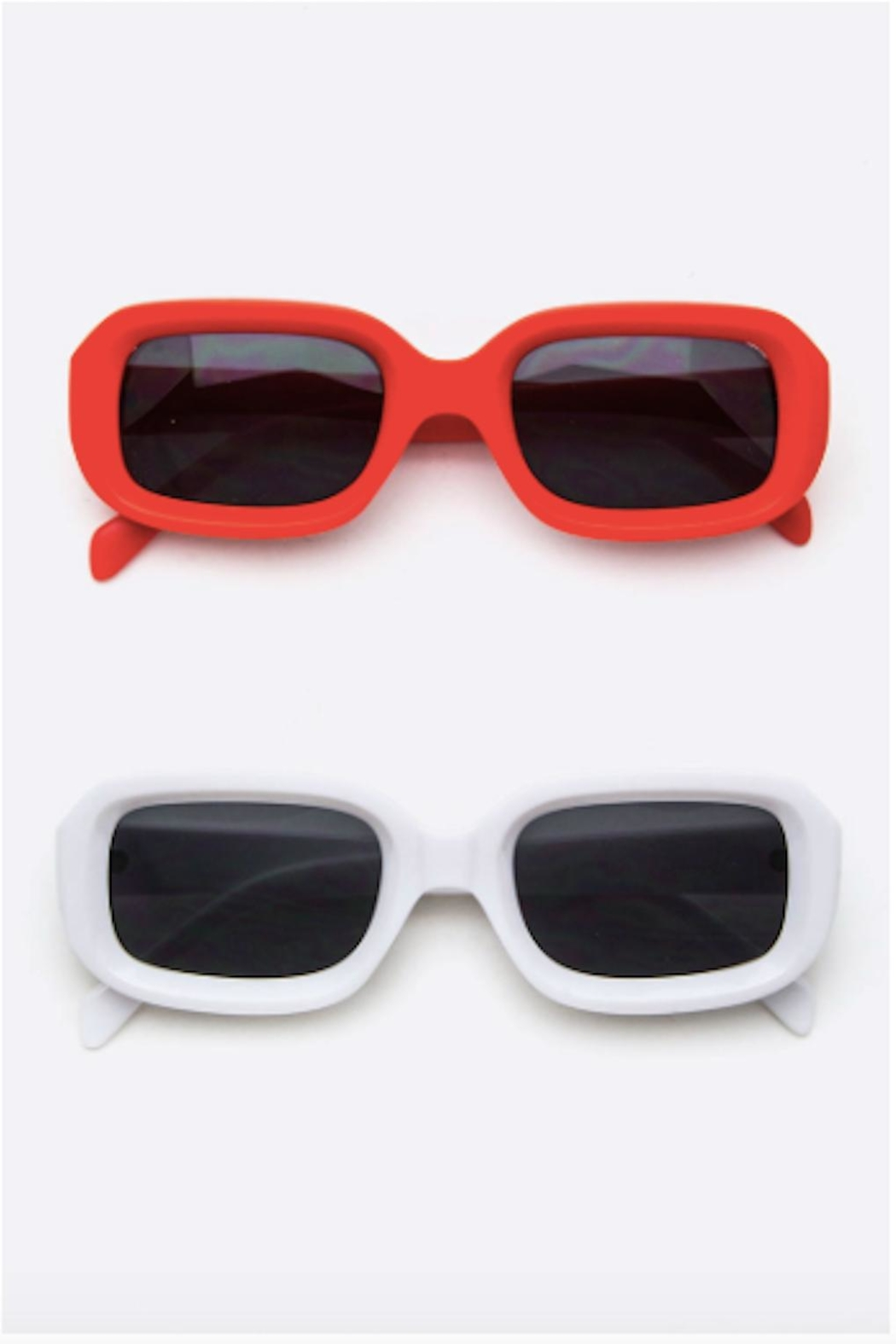 TIMELESS Retro Square Sunglasses - Front Cropped Image