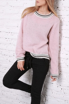 Wooden Ships Retro Stripe Sweater - Product List Image