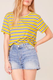 BB Dakota Retro Stripe Tee - Product Mini Image