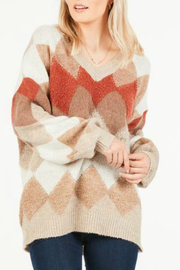 LoveRiche Retro sweater - Front cropped