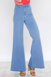 Flying Tomato Retro Wide-Leg Jean - Front cropped