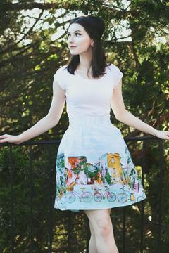 Shoptiques Product: Alice's Adventures Skirt