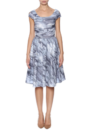Retrolicious Cloudy Day Dress - Front cropped
