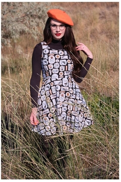 Retrolicious Ghoulish Skater Dress - Product List Image