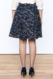 Shoptiques Product: Glow Constellation Skirt - Back cropped