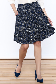 Shoptiques Product: Glow Constellation Skirt - Front cropped