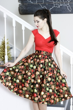 Shoptiques Product: Holiday Ornaments Skirt