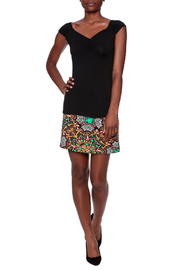 Retrolicious Isabel Ruched Top - Front full body