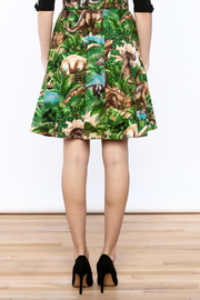 Shoptiques Product: Jurassic Park Skirt - Back cropped