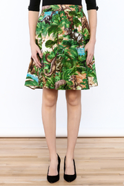 Retrolicious Jurassic Park Skirt - Side cropped