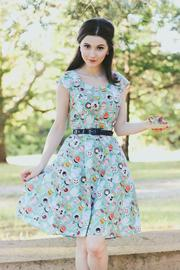 Retrolicious Tea-Party Dress - Product Mini Image