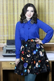 Retrolicious Out-Of-This-World Skirt - Product Mini Image