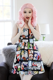 Retrolicious Pop Art Dress - Front cropped
