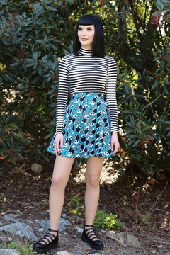 Shoptiques Product: Raccoons Skater Skirt