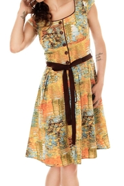 Retrolicious Reflections Dress - Front cropped