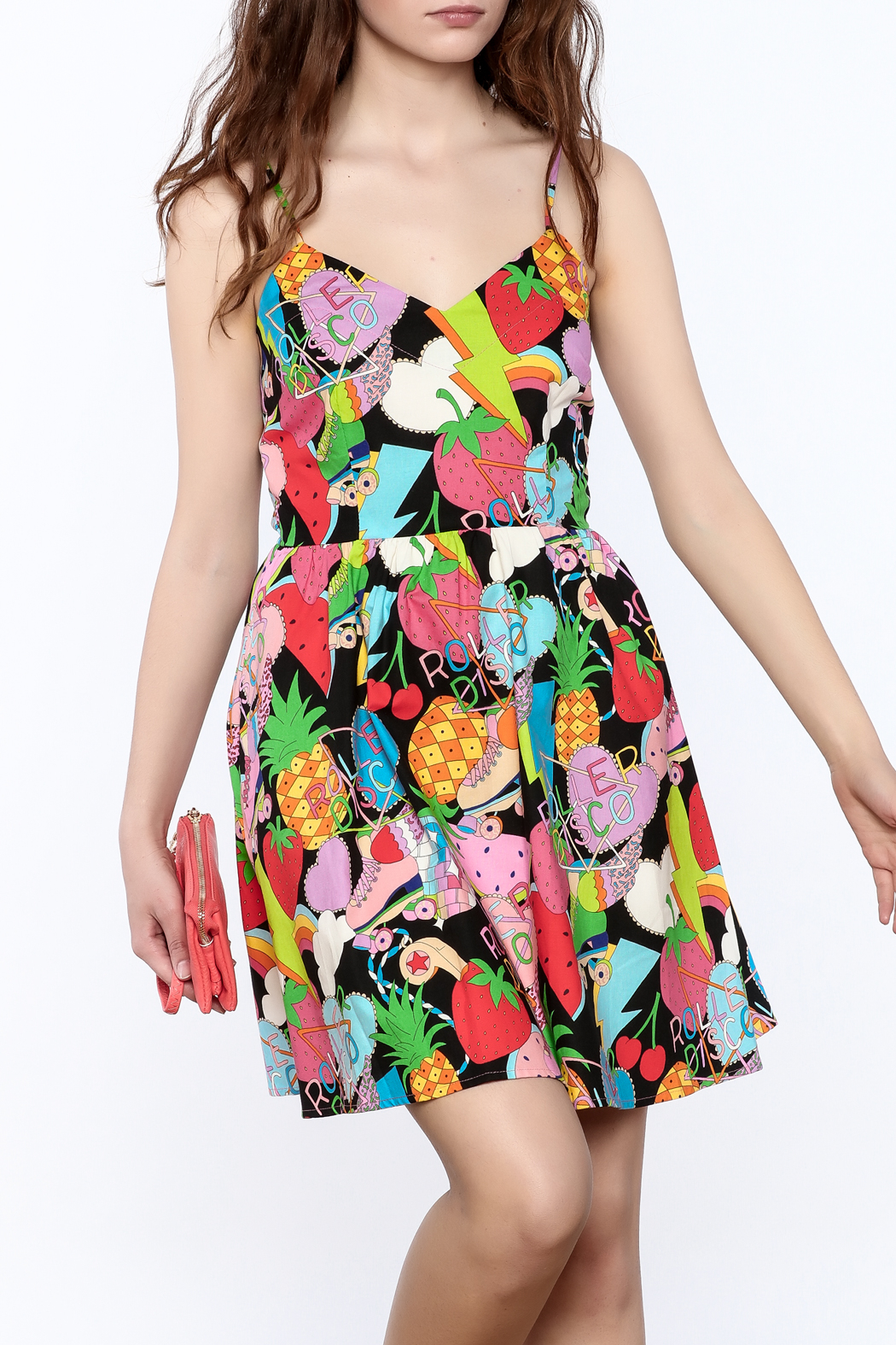 Retrolicious Roller Derby Dress - Front Cropped Image