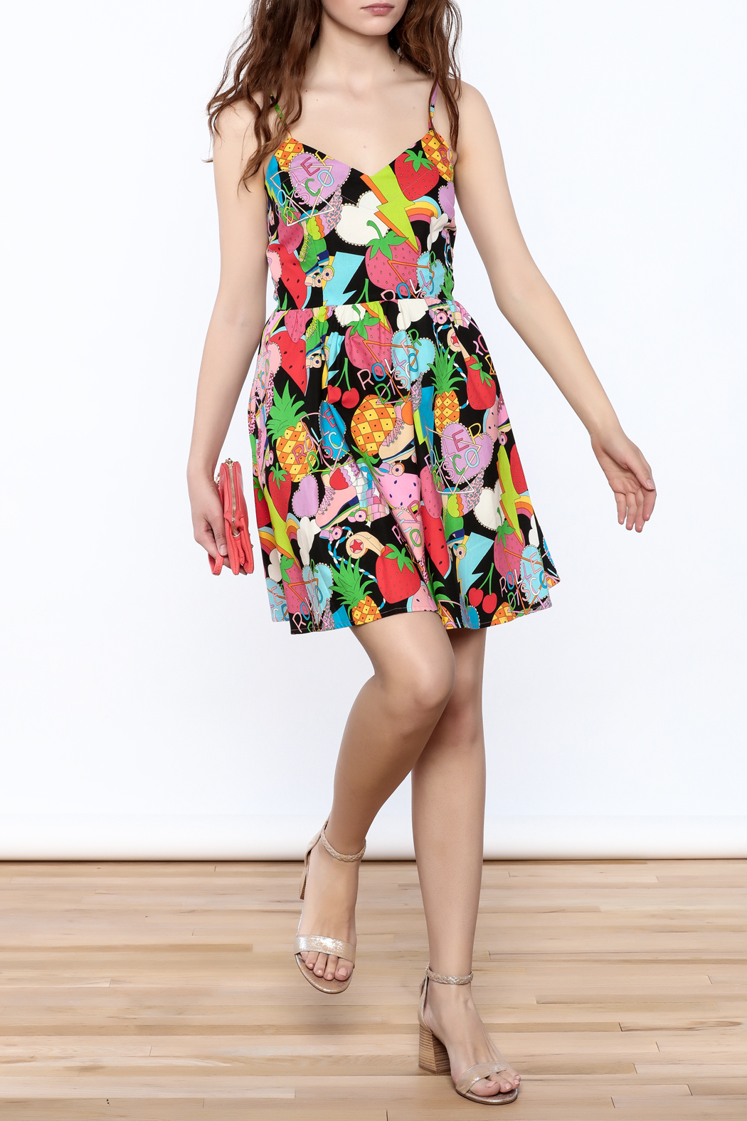 Retrolicious Roller Derby Dress - Front Full Image