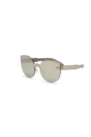 RetroSuperFuture Retrosuperfuture Ivory Sunnies - Front full body