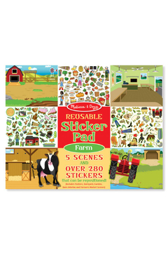 Melissa and Doug Reusable Sticker Pad: Farm - Alternate List Image