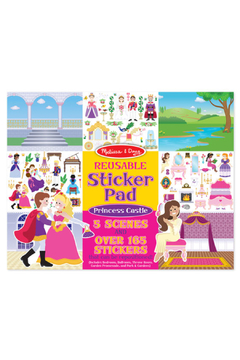 Melissa and Doug Reusable Sticker Pad: Princess Castle - Alternate List Image
