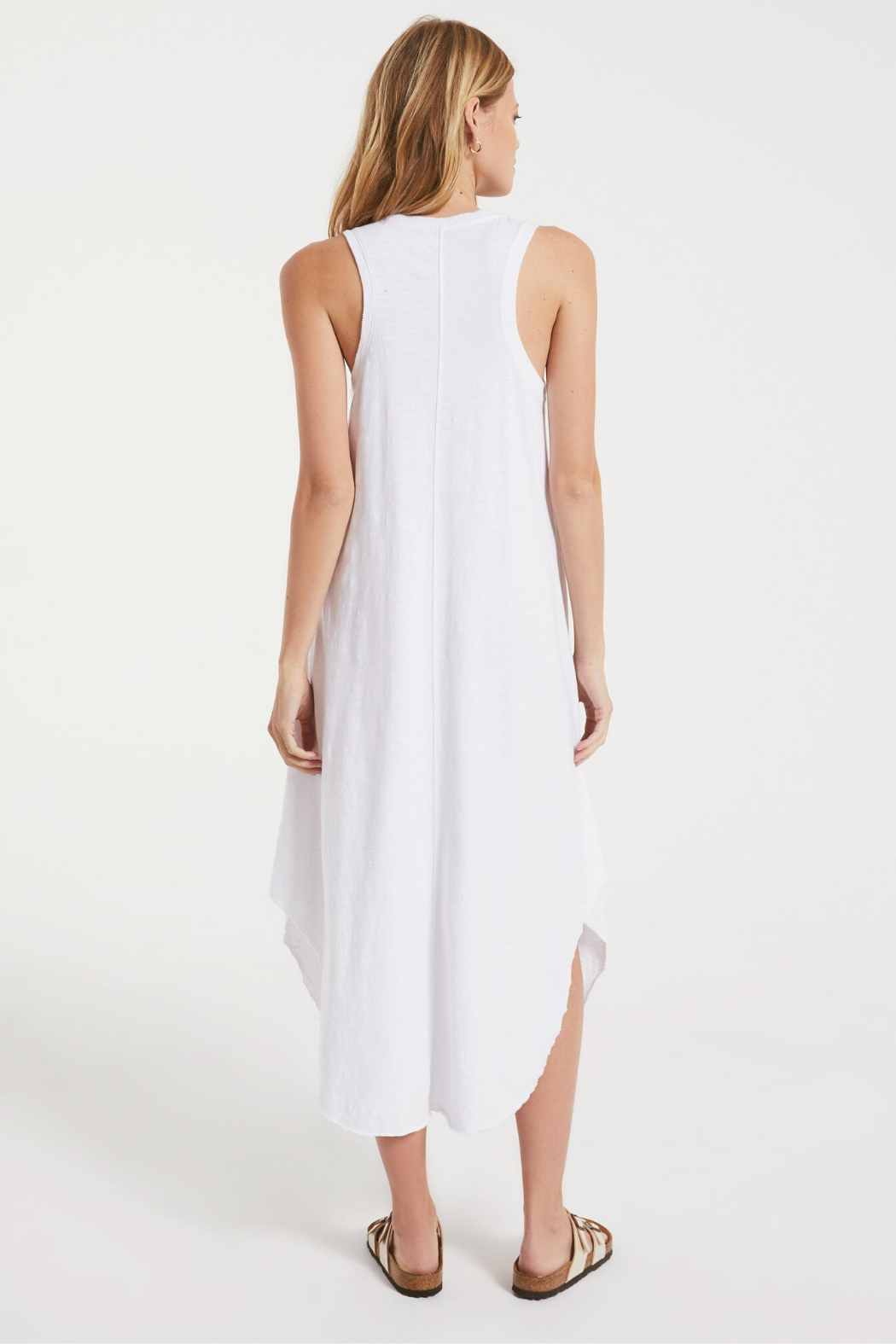 z supply Reverie Midi Dress - Side Cropped Image