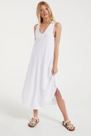 z supply Reverie Midi Dress - Back cropped