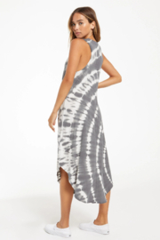 z supply Reverie Spiral Tie-Dye Dress - Side cropped
