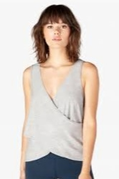 Shoptiques Product: Reverse Direction Featherweight Tank in Gray