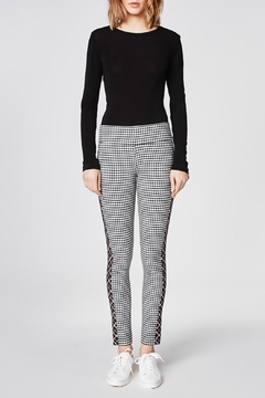 Nicole Miller Reverse Plaid Pant - Alternate List Image