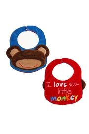 Evergreen Enterprises Reversible Bib- Monkey - Front cropped