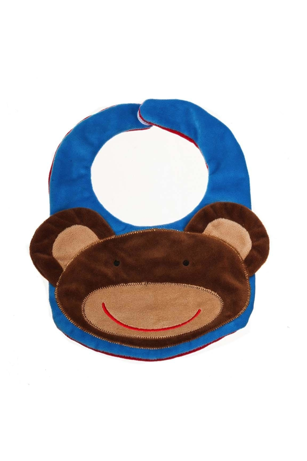 Evergreen Enterprises Reversible Bib- Monkey - Front Full Image