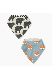 Tea Collection Reversible Bib Two-Pack - Product Mini Image