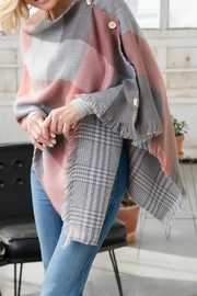DEMDACO Reversible Button Poncho - Product Mini Image
