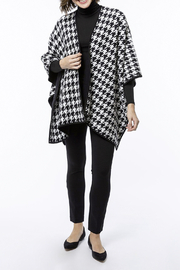 Tyler Boe Reversible Cotton/Cashmere Cape - Side cropped