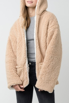Love Tree  Reversible Faux Sherpa Jacket - Product List Image