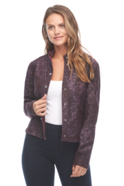 FDJ French Dressing Reversible Floral Jacket - Front full body