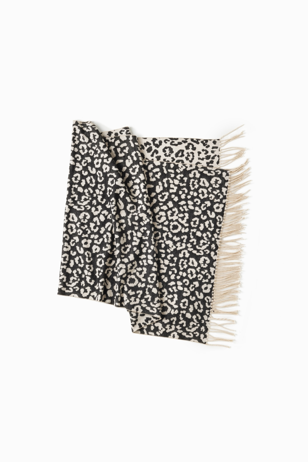 Look by M Reversible Leopard Scarf - Main Image