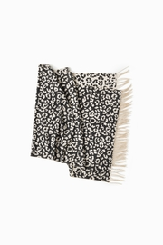 Look by M Reversible Leopard Scarf - Front cropped