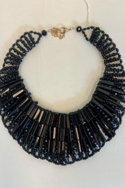 L & B CREATIONS REVERSIBLE NECKLACE - Front full body