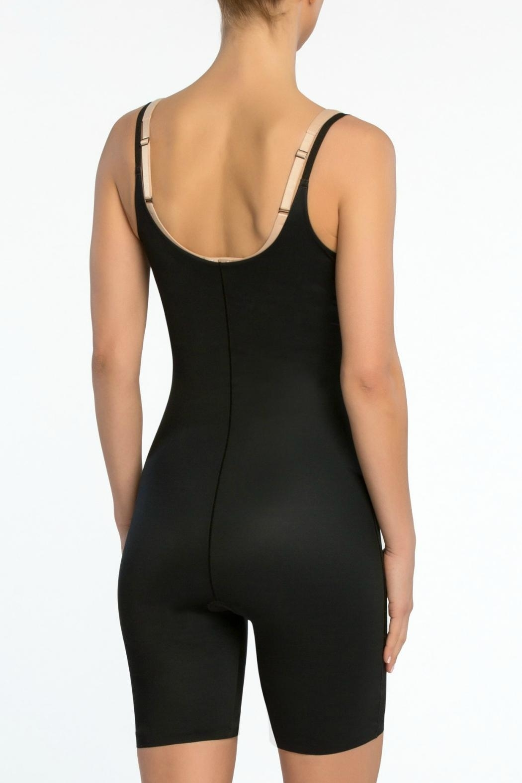 Spanx Reversible Open Bust MidThigh Shaper - Side Cropped Image