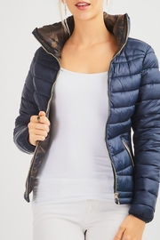 12pm by Mon Ami Reversible Puffer Jacket - Product Mini Image