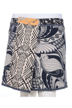 IBIZA Reversible rayon skirt with pockets (sizes 10-20 and 19