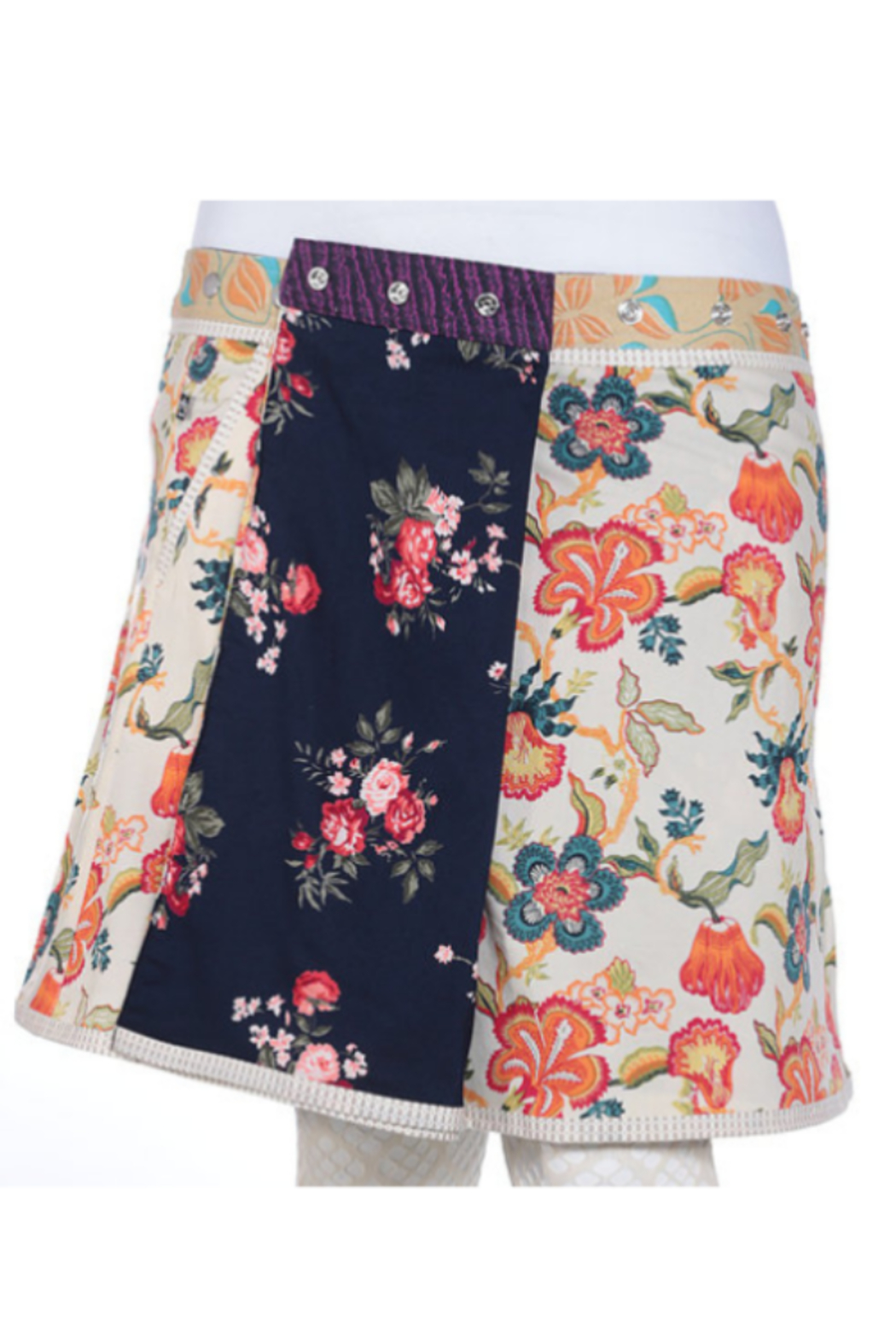IBIZA Reversible rayon skirt with pockets (sizes 18-30 and 23