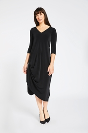 Sympli Reversible Ruched Dress - Product Mini Image