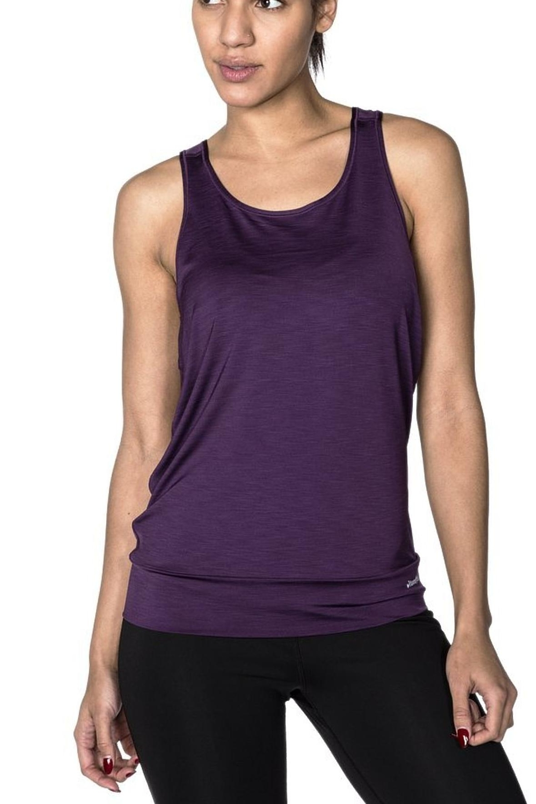handful. Reversible Scoop Tank - Front Cropped Image