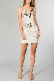 Minuet Reversible Sequin Dress - Back cropped