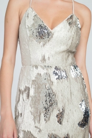 Minuet Reversible Sequin Gown - Side cropped
