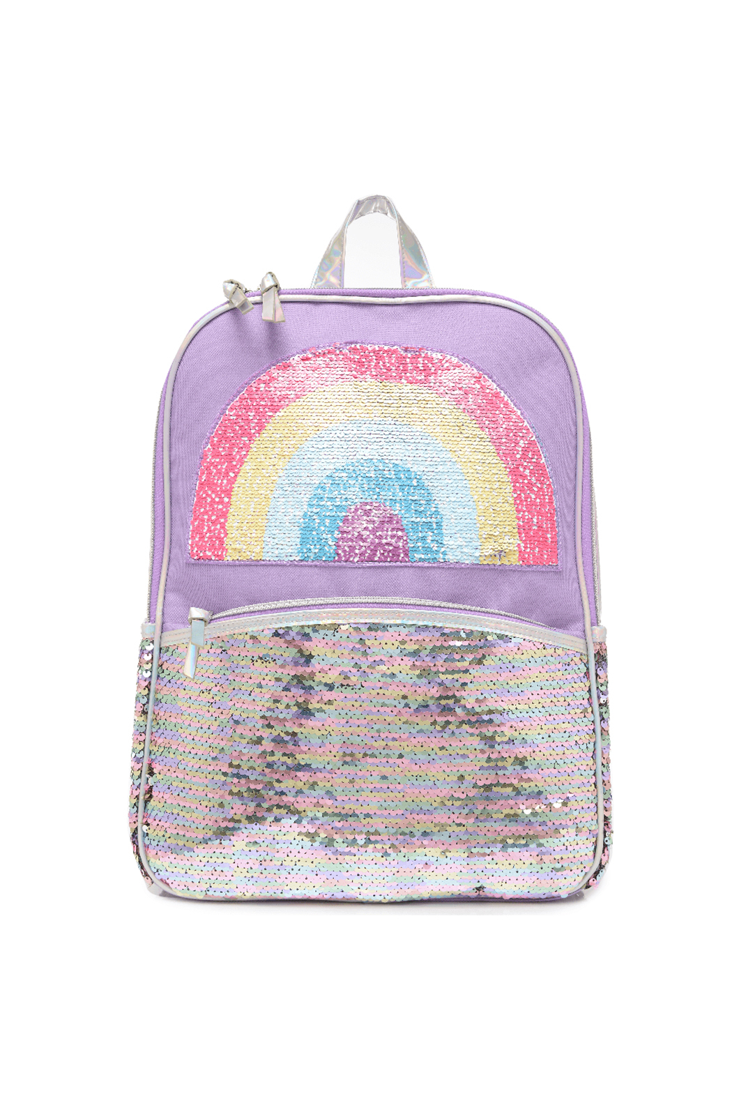 Me Oui Reversible Sequins Unicorn Backpack - Front Cropped Image