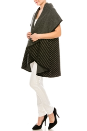 Look by M Reversible Shawl Scarf - Side cropped
