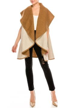 Look by M Reversible Shawl Vest - Product List Image